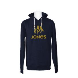 JONES Truckee Hoody Zip navy heather