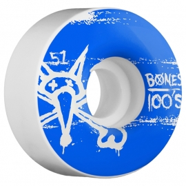 Bones 100's Wheel Natural 100A 51mm