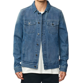 GLOBE Stalker Denim Jacket MOTOR BLUE