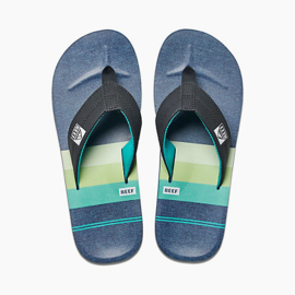 REEF HT Prints aqua/green