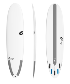 "7'0"" TORQ M2 TEC surfboard (boardcollor white)"