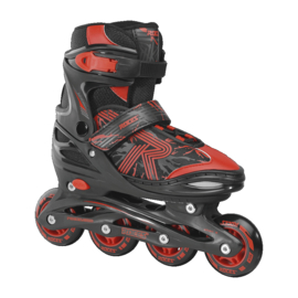 ROCES Jokey 3.0 junior skates 34-37 black/red verstelbaar