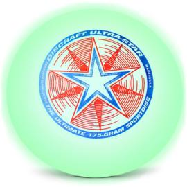 Discraft Frisbee Ultrastar Nite Glow 175 gram