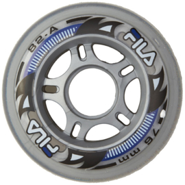 FILA WHEELS 76MM/82A CLEAR