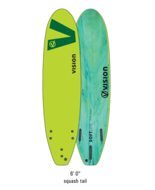 "VISION Softlite 6'0"" lime green"