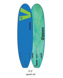 "VISION Softlite 6'0"" royal blue/lime"