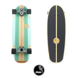 """SLIDE Surfskate  Gussie 31 """"Avalanche - Slide"""