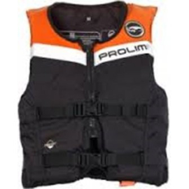 PROLIMIT Floating Vest Freeride WAIST orange