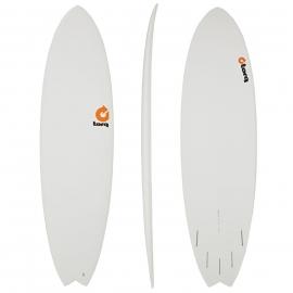"""Torq 5'11"""" Fish White"""