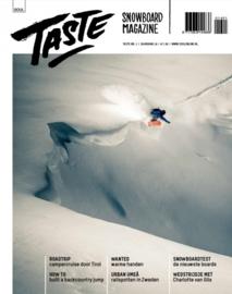 Taste Snowboard magazine jaargang 16 nr.1