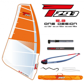 Bic One Design 5,8 m2 tuigage
