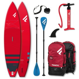 """FANATIC Ray Air Pure complete SUP set 11'6"""" red"""