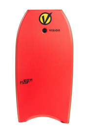 """VISION Fuse 42"""" bodyboard red/yellow"""
