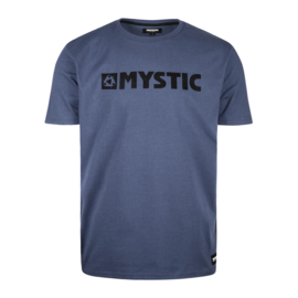 MYSTIC Brand Tee denim blue