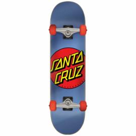 "SANTA CRUZ skateboard Creaming Hand silver 8.25"""