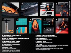 NAISH Wing Surfer 2020 4,0 m2