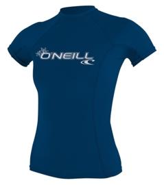 O'Neill WMS Basic Skins S/S Crew deep sea