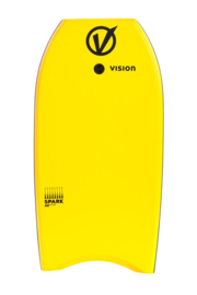 "VISION Spark 42"" bodyboard yellow/black"