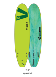 "VISION Softlite Ignite 7'0"" lime/green"
