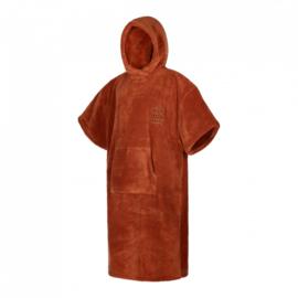 MYSTIC Teddy Poncho  rusty red