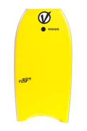 "VISION Fuse 45"" bodyboard yellow/black"