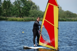 Dagcursus Windsurfen zondag 19 juli  van 12 tot 17 uur