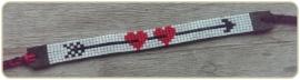 Armband 'you & me' Hearts