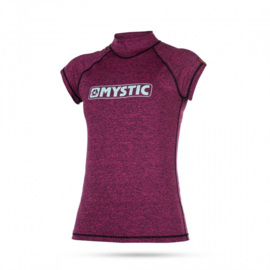 MYSTIC Star women Shortsleeve Rash Vest pink