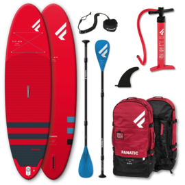 """FANATIC Fly Air Pure complete SUP set 10'4"""" red"""