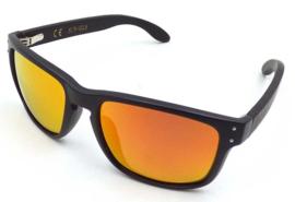 APHEX Sunglass Jive matt black frame revo red lens