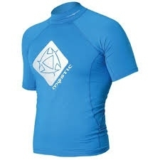 Mystic Star Lycra Short Sleeve Blue