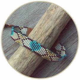 Armband 'Turquoise Hearts'