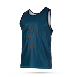 MYSTIC Block men Tanktop Quiskdry teal