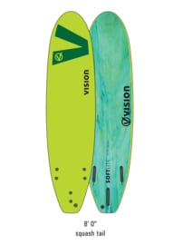 "VISION Softlite Ignite 8'0"" lime/green"