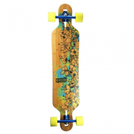 "RIVIERA Water Blossoms 41'3"" Complete longboard"