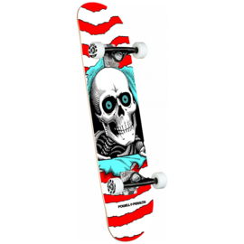 Powell Peralta Ripper Complete Skateboard Shape 242 Red 8.0