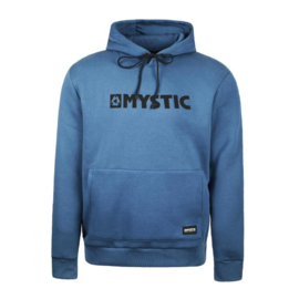 MYSTIC Brand Hood Sweat denim blue