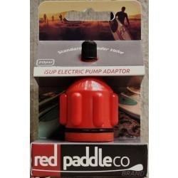 RED Schrader Valve adaptor