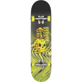 GLOBE G1 Nature Walk skateboarde black/toxic/yellow