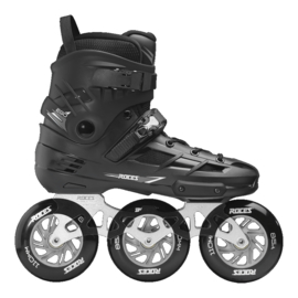 ROCES EGO TIF 3x110 skates black-silver