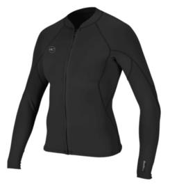 O'Neill WMS Reactor-2 1.5mm Front Zip Jacket black