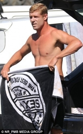 Sex Wax Beach Towel black