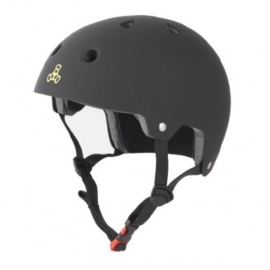 Triple Eight Brainsaver Dual Certified Skatehelm Black
