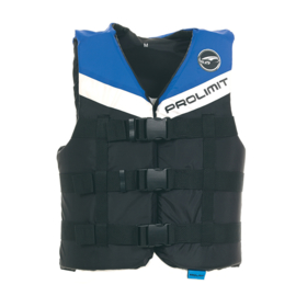 PROLIMIT vest nylon 3-buckle black/blue