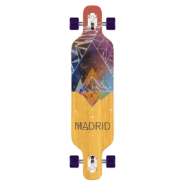 "Madrid Trance 40"" Space Mountain Bamboo DT Complete longboard"