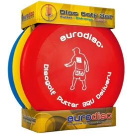 Eurodisc Discgolf Start set SQU