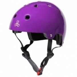 Triple Eight Brainsaver Dual Certified Purple Glossy