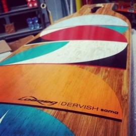 Loaded Dervish Sama (Circles) complete longboard