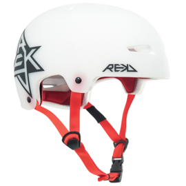 REKD Elite Icon TRANS helm white/red