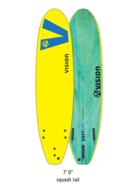 "VISION Softlite Ignite 7'0"" yellow royal/blue"
